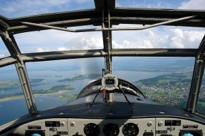 Flying on the historic Junkers